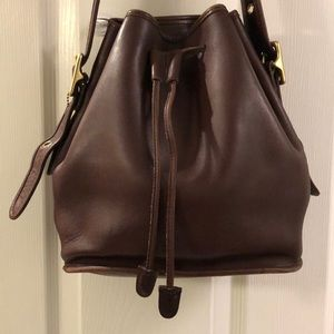 Vintage Coach Bucket Bag